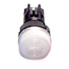 Лампа сигнальная XB2-EV161 d22мм белая неон 230В цилиндр ЭНЕРГИЯ