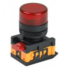 Лампа сигнальная XB2-EV164 d22мм красная неон 230В цилиндр ЭНЕРГИЯ