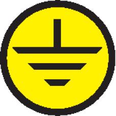 """АБК-СИЛА Символ """"Заземление"""" d - 20мм"""