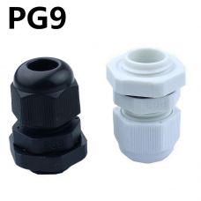 Кабельный ввод PG9 диаметр кабеля 4-8мм IP 68 (коннектор) ЭНЕРГИЯ