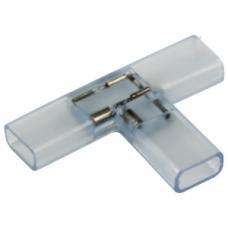 Муфта соединительная T для светодиодной ленты 220В, 6.5х17мм