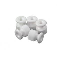 Bironi изолятор, керамика, белый