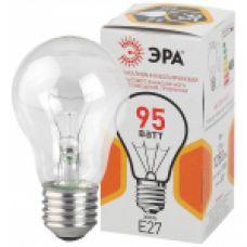 Лампа накаливания ЭРА A50 груша 95Вт 230В Е27 цв. упаковка