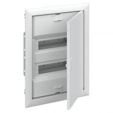 UK620P3RU Шкаф внутреннего монтажа на 24М с самозажимными N/PE